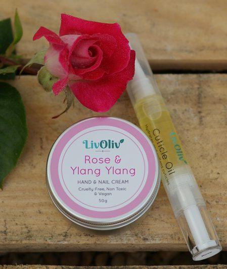 rose & ylang +oil