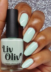 Mint Geleto Bottle swatch