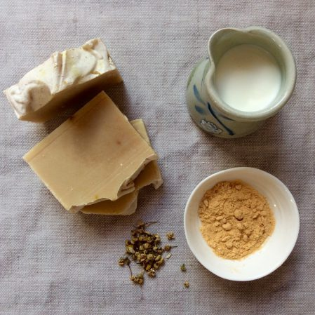 boho chic hand made soap