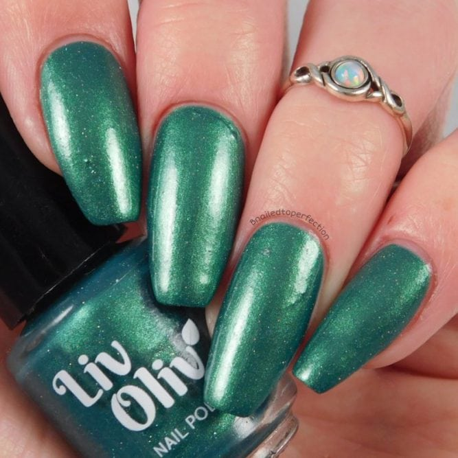 Christmas Green Nail Polish