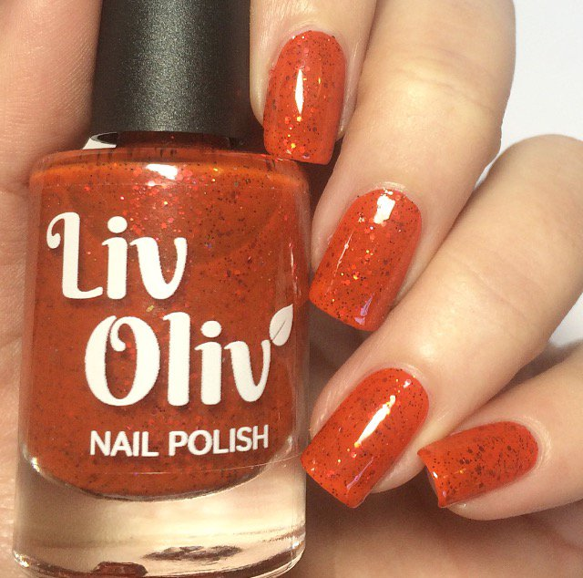 Tuesday Nail Polish: LivOliv Cosmetics Vegan Nail