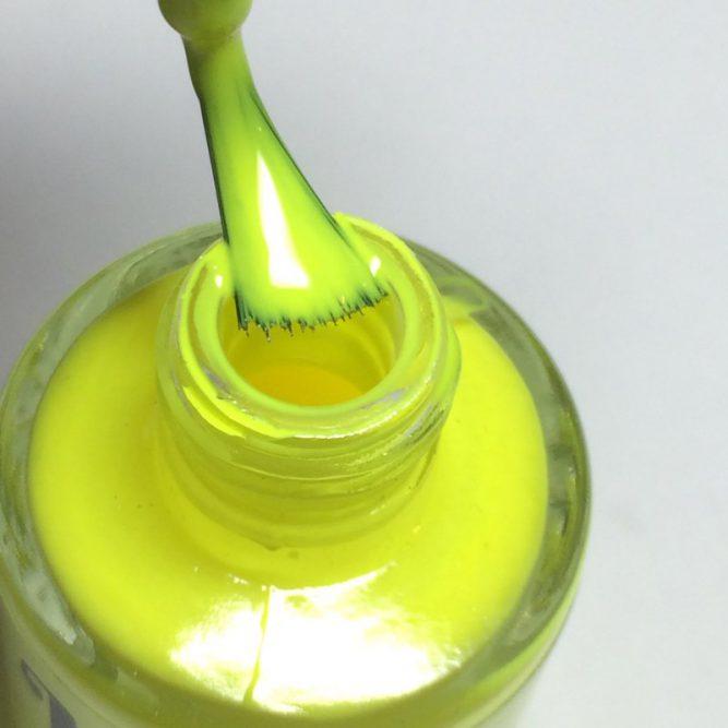 Harmony bottle - bright neon yellow