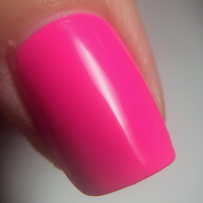 Psychedelic macro - bright neon pink