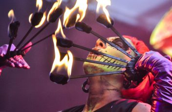 Fire Breather Festival Entertainer
