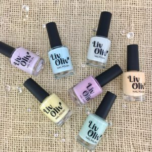 LivOliv Nail Polish Pastels Collection
