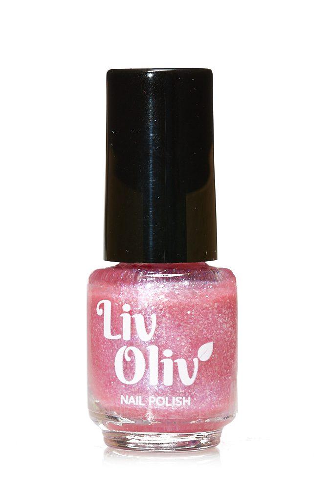 Livoliv cruelty free nail polish pink