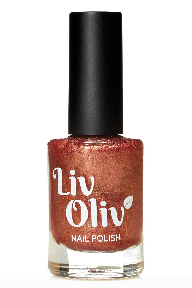 Livoliv cruelty free nail polish copper