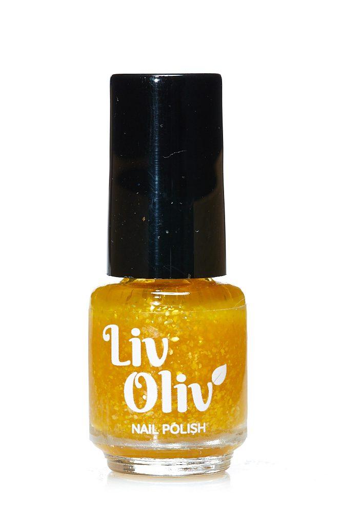 Livoliv cruelty free nail polish gold