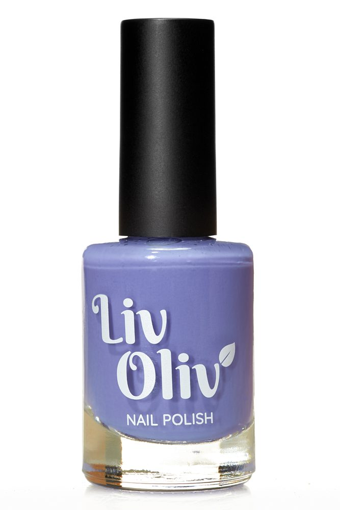 livoliv cruelty free purple nail varnish