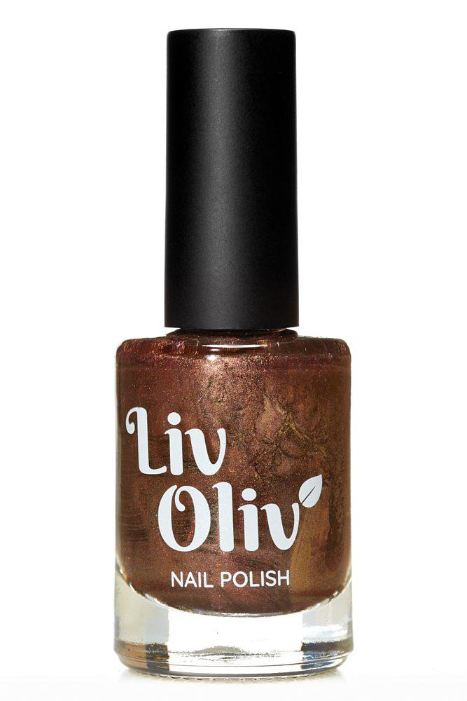 Livoliv cruelty free nail polish walnut