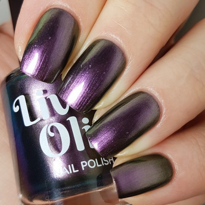 LivOliv Cruelty Free Nail Polish ultra chrome purple