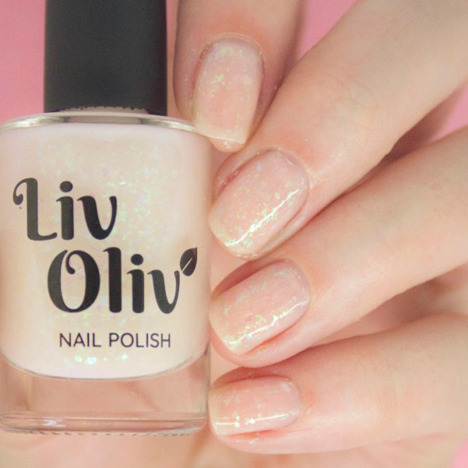 neutral to pink photochromic cruelty free nail polish neutral nails