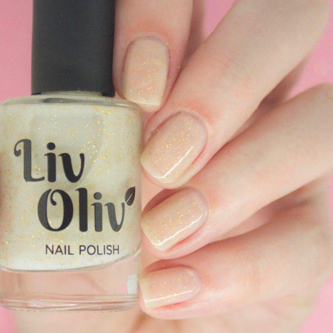 neutral to blue photochromic cruelty free nail polish neutral nails