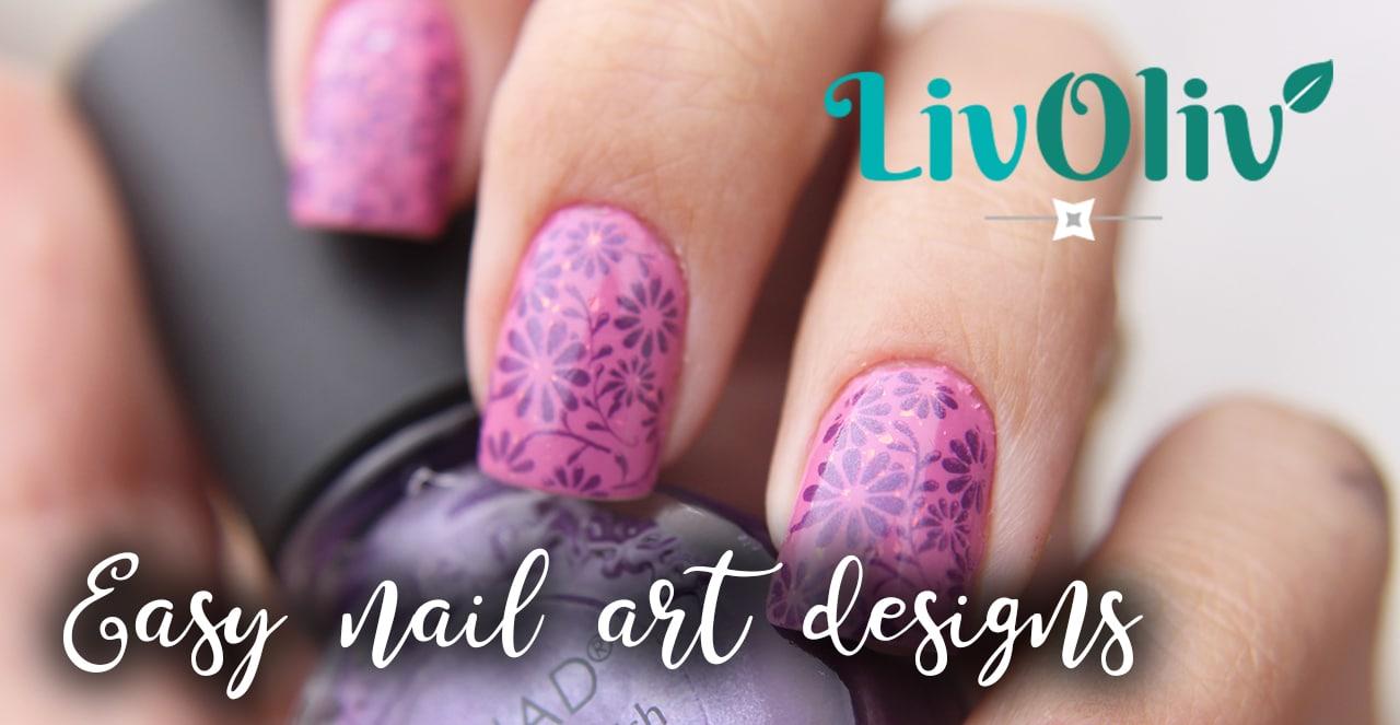 Livoliv easy nail art designs for beginners