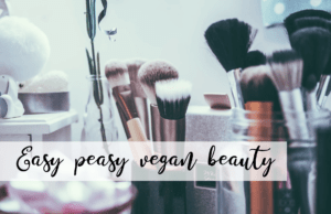 Easy Peasy Vegan Beauty